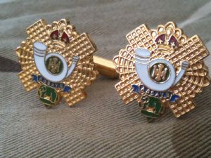 Highland Light Infantry Regimental Military Cufflinks